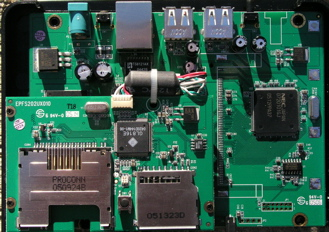 TS-U200 main board