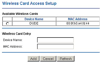 NETGEAR WPN824 - Adding a client to the Wireless Access list