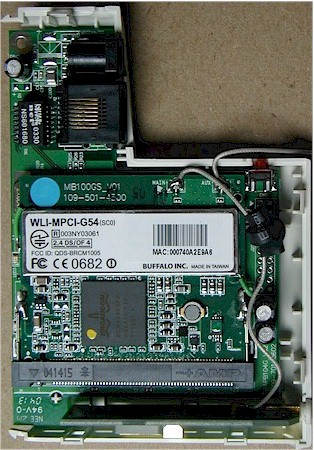 Buffalo Tech WLA-G54C board