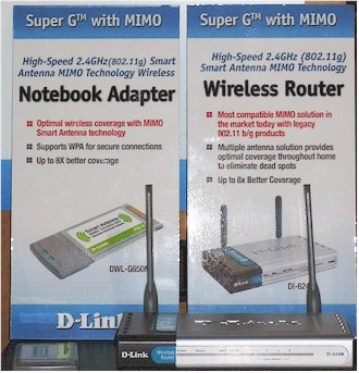 D-Link MIMO products