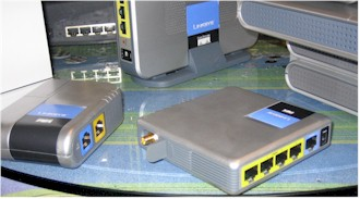 Linksys mini routers
