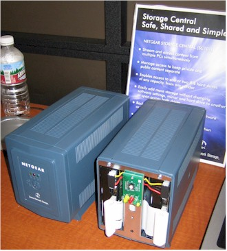 NETGEAR SC101 Storage Center prototype