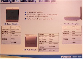 Panasonic - MoCA Yes, HomePlug AV No