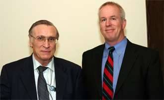 FBI Computer Scientist James C. Smith (left) and FBI Special Agent Geoff Bickers (right)